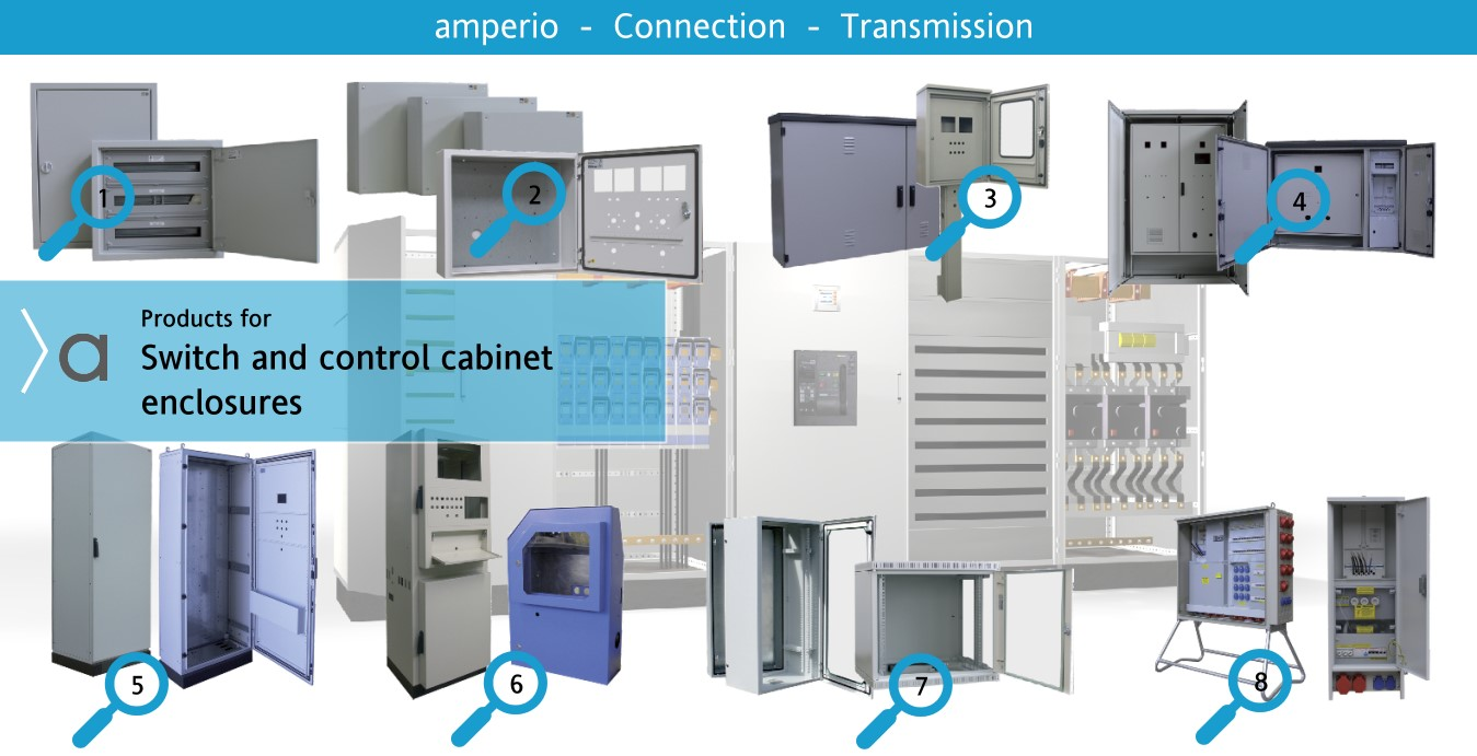 2. Low voltage Distribution and Control cabinets